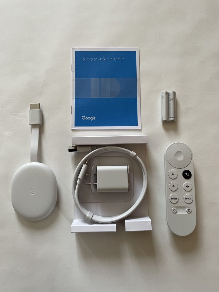 Chromecast with Google TV(ホワイト)