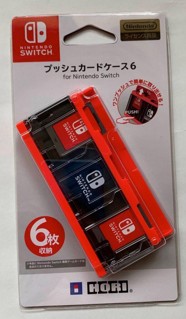 プッシュカードケース6 for Nintendo Switch