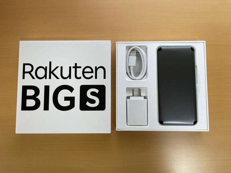 Rakuten BIG sの開封