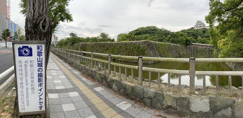 和歌山城のフォトスポット