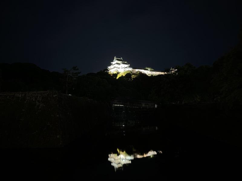 和歌山城の夜景